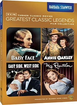 TCM Greatest Classic Films: Legends - Barbara Stanwyck (DVD)