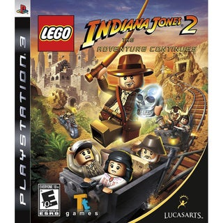 PS3 - Lego Indiana Jones 2 The Adventure Continues