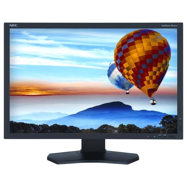 Nec Pa242w-Bk Display 24.1 Inch Led Lcd Monitor 16:10 8 Ms Adjustable Display Angle 1920 X 1200 1.07 Billion Colors 340 Nit 1 PA242W-BK
