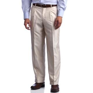 Phat Premium by Phat Farm Men's Cream Wide-leg Pants