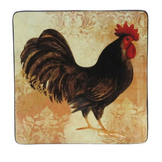Certified International Avignon Rooster Square Platter