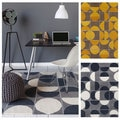 Hand-tufted Allie Geometric Wool Rug (5' x 7'6)