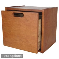 """qd-box"" with drawer - PATENTED, unique storage cube system"
