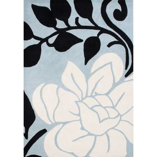 Alliyah Handmade Cloud Cream New Zealand Blend Wool Rug (8' x 10')