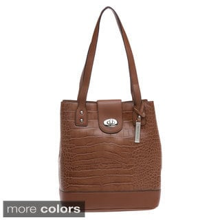 Franco Sarto 'U-Turn' Leather Tote Bag