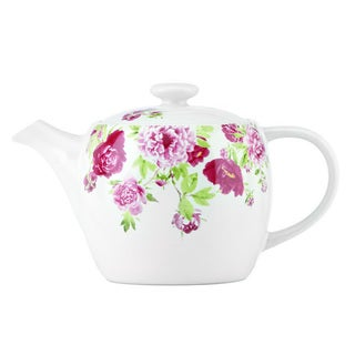 Kathy Ireland Home Blossoming Rose Teapot by Gorham