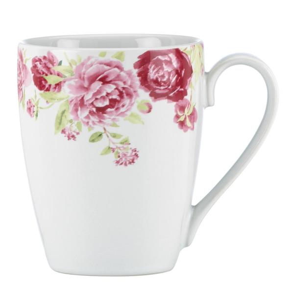 Kathy Ireland Home Blossoming Rose Mug by Gorham