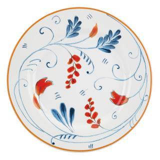 Kathy Ireland Home Spanish Botanica Canape Plates by Gorham (Set of 4)