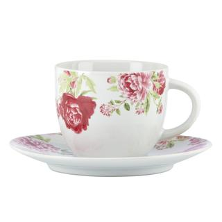 Kathy Ireland Home Blossoming Rose Cup/ Saucer by Gorham