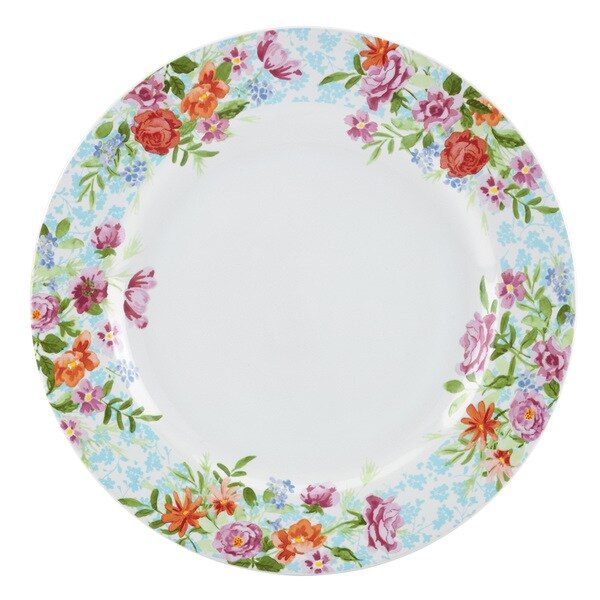 Kathy Ireland Home Spring Bouquet Dinner Plate by Gorham