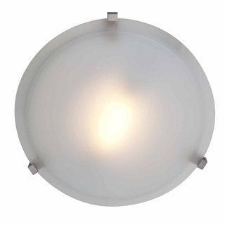 Access Cirrus 1-light Satin 16-inch Flush-Mount