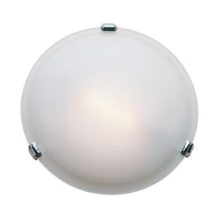 Access Nimbus 1-light Chrome 8-inch Flush-Mount