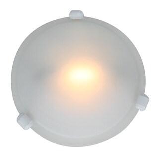 Access Nimbus 1-light White 8-inch Flush-Mount