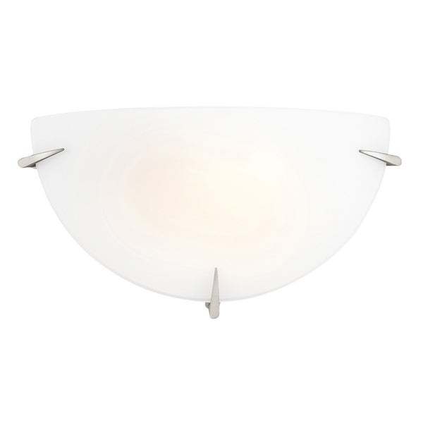 Access Zenon 1-light Brushed Steel ADA compliant Wall Sconce