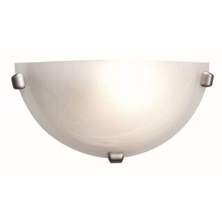 Access Mona 1-light Brushed Steel Wall Sconce