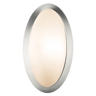 Access Cobalt 1-light Brushed Steel Wall Sconce