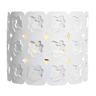 Access Lacey 1-light Laser Cut Metal Wall Sconce