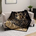 Buckwear Dear Theme Oversized High Pile Throw