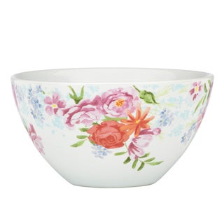 Kathy Ireland Home Spring Bouquet Fruit Bowl by Gorham