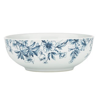 Kathy Ireland Home Nature's Song Vegetable Bowl by Gorham