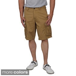 Boston Traveler Men's Twill Flat Front Cargo Shorts