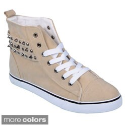 Journee Collection Women's 'Havie' Studded High Top Sneakers