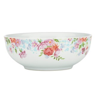 Kathy Ireland Home Spring Bouquet Vegetable Bowl by Gorham