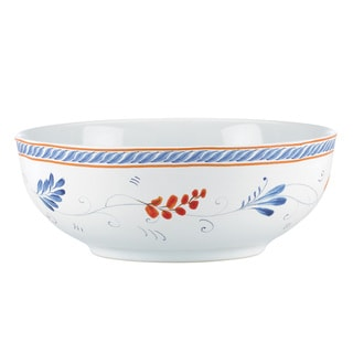 Kathy Ireland Home Spanish Botanica Vegetable Bowl by Gorham