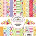 Fruit Stand Paper Pad 6X6in