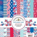 Stars & Stripes Paper Pad 6X6in