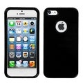 BasAcc Black Solid Phone Protector Case for Apple iPhone 5