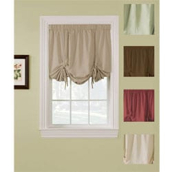 Ridgedale Woven Blackout 63-inch Tie-up Shade
