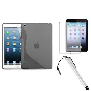 BasAcc S-Shape Case/ Stylus/ Screen Protector for Apple iPad Mini