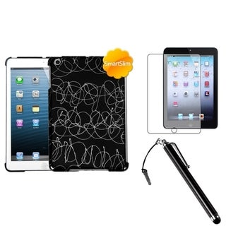 BasAcc Black Case/ Stylus/ LCD Protector for Apple iPad Mini