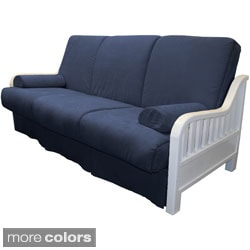 Casablanca Perfect 'Sit and Sleep' Traditional-style Pillow Top Futon Sofa Bed