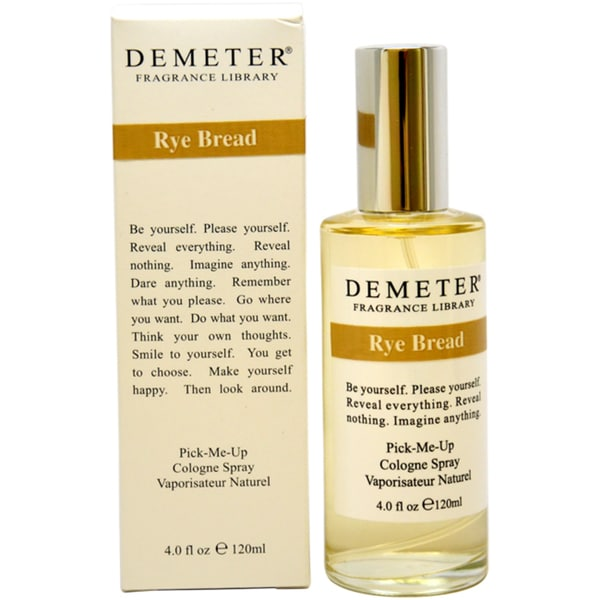Demeter Rye Bread Women's 4-ounce Cologne Spray