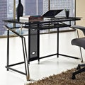 Altra Modern Black/ Chrome Computer Desk