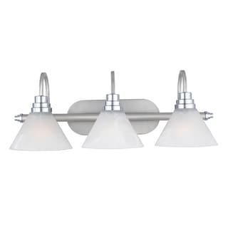 Quoizel 'Astoria' Three-light Bath Fixture