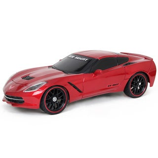 New Bright 1:10 Scale Radio-Controlled Red Corvette