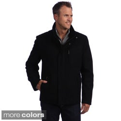 Izod Men's Zip Pocket Wool Jacket
