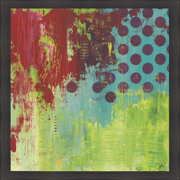 Julie Hawkins 'Make Me A Rainbow' Framed Print