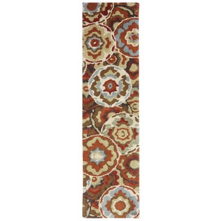 American Rug Craftsmen Shaggy Vibes Timberlake Picante Rug (2' x 7'10)