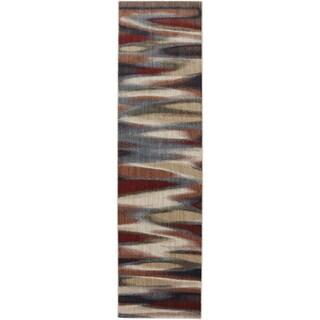 American Rug Craftsmen Dryden Tupper Lake Ashen Rug (2'1 x 7'10)