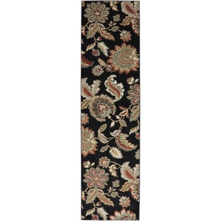 American Rug Craftsmen Madison James Parks Black Rug (2'1 x 7'10)