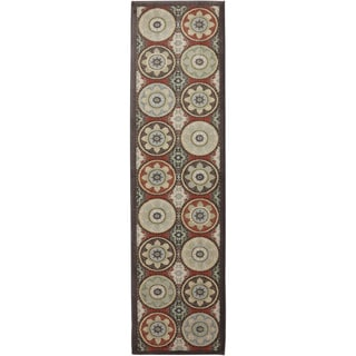 American Rug Craftsmen Madison Cliff Lodge Coco Rug (2'1 x 7'10)