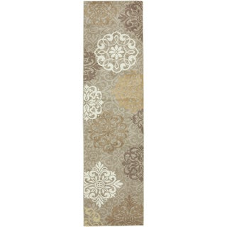 American Rug Craftsmen Madison Open Vista Dark Beige Rug (2'1 x 7'10)