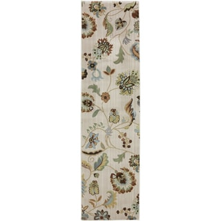 Serenity Sol Star Butter Pecan Rug (2'1 x 7'10)