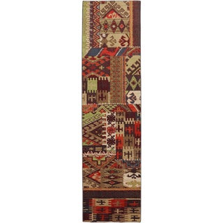American Rug Craftsmen Madison Louis and Clark Bark Brown Rug (2'1 x 7'10)