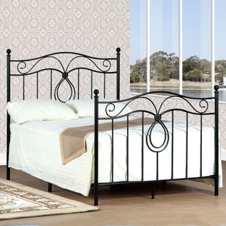 Queen-size Bronze Headboard and Footboard Set