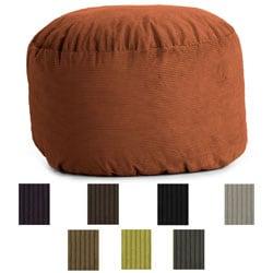 FufSack Wide Wale Corduroy 4.5-foot King Bean Bag Chair